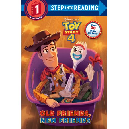 Old Friends, New Friends (Disney/Pixar Toy Story 4) - Halloween Toy Story Coloring Pages