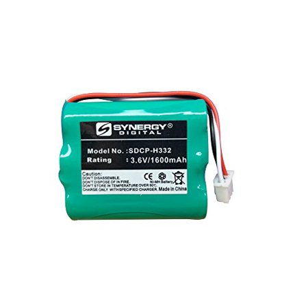 Huawei BTR2260B Cordless Phone Battery NiMh, 3.6 Volt, 1600 mAh, Replacement Battery for Huawei HGB-15AAX3 Cordless Phone Battery 5000 Mah Nimh Flat