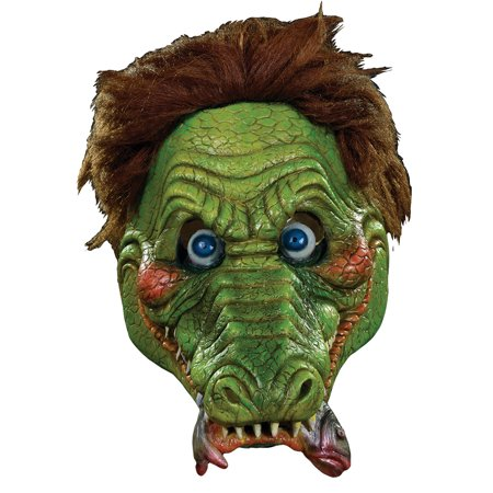 Garbage Pail Kids Full Adult Costume Mask Ali Gator