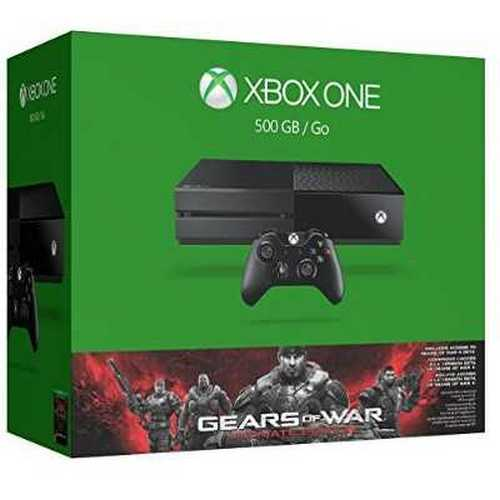 Refurbished Microsoft Xbox One 500GB Console - Gears of War: Ultimate Edition Bundle
