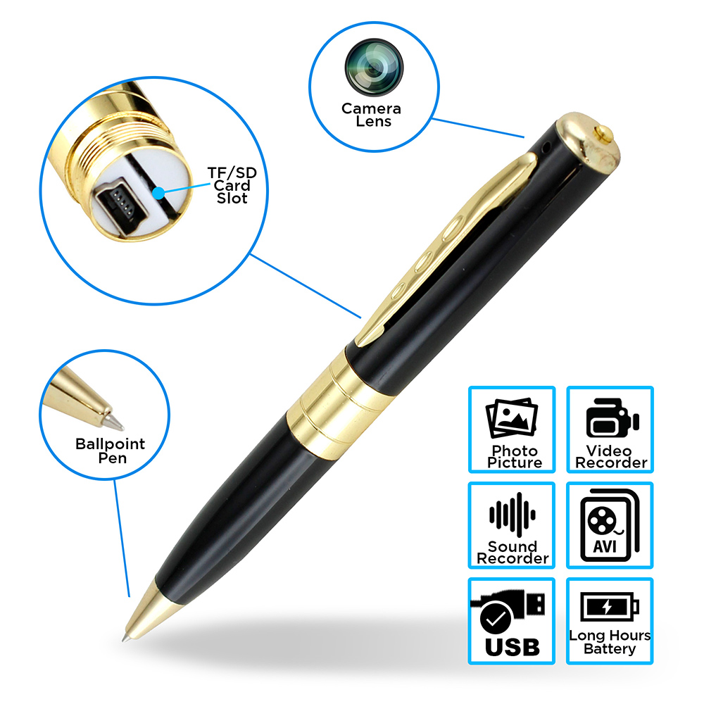 Mini Spy Pen Hidden Camera Video Recorder HD Video DVR USB 1280x960 Nanny Cam