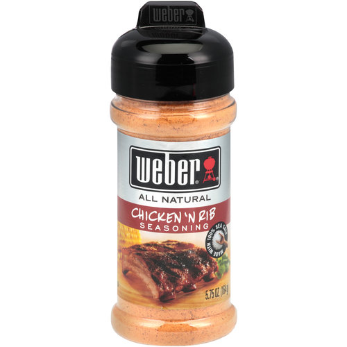 Weber Chicken 'N Rib Seasoning, 5.75 oz