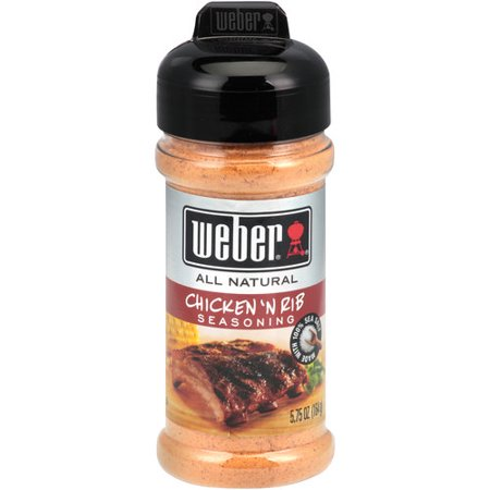 Weber Beer Can Chicken ((2 Pack) Weber Chicken 'N Rib Seasoning, 5.75)