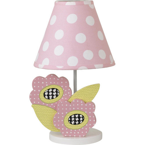Cotton Tale Poppy 18'' H Table Lamp with Empire Shade