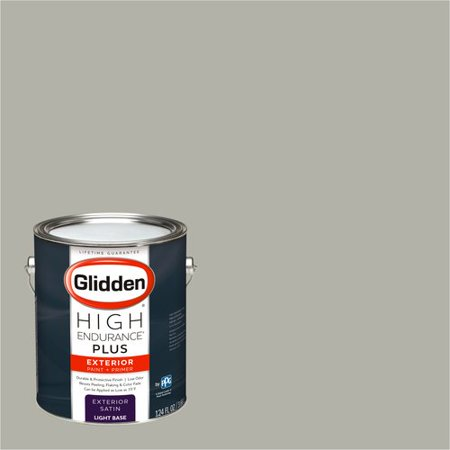 Glidden High Endurance Plus Exterior Paint Pewter Grey 50YY 47 053
