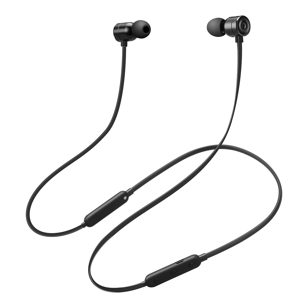 Wireless Headphones, In-Ear Bluetooth Headphones with Mic, Lightweight Magnetic Earbuds, Sports Headsets for Workout, Gym, Jogging, Running