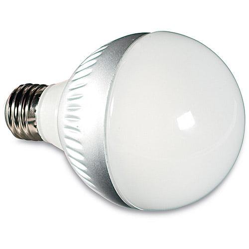 Verbatim 60W Dimmable LED Globe Light Bulb, Warm White
