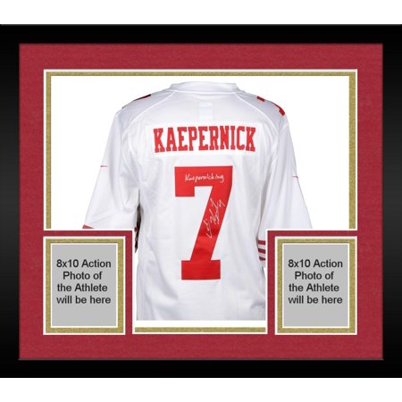 more photos 2cbad 2832d Framed Colin Kaepernick San Francisco 49ers Autographed ...