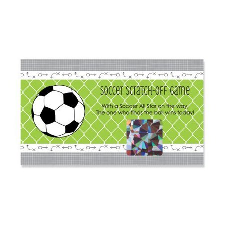 Soccer Party Games (GOAAAL! - Soccer - Party Game Scratch Off Cards - 22)