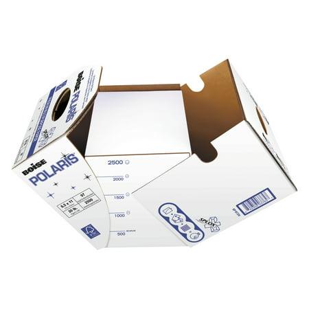 Boise POLARIS Premium Multipurpose Paper, 8 1/2 x 11, Letter, 20lb White, 2500 Sheets