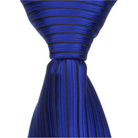 B2 - 15.25 in. Zipper Necktie - Blue, 4T-7