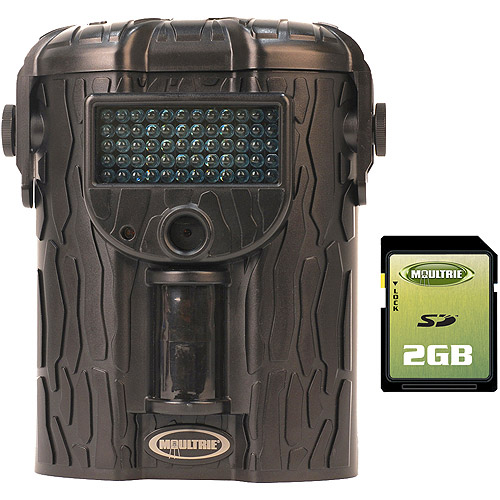 Moultrie Game Spy I-45 IR 4.0 Megapixel Digital Game Camera with BONUS 2GB SD Card