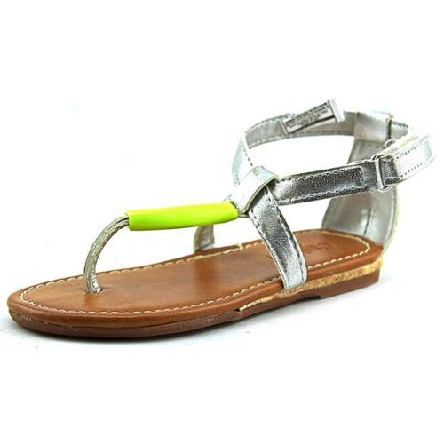 Osh Kosh Lacey Toddler US 6 Silver Sandals