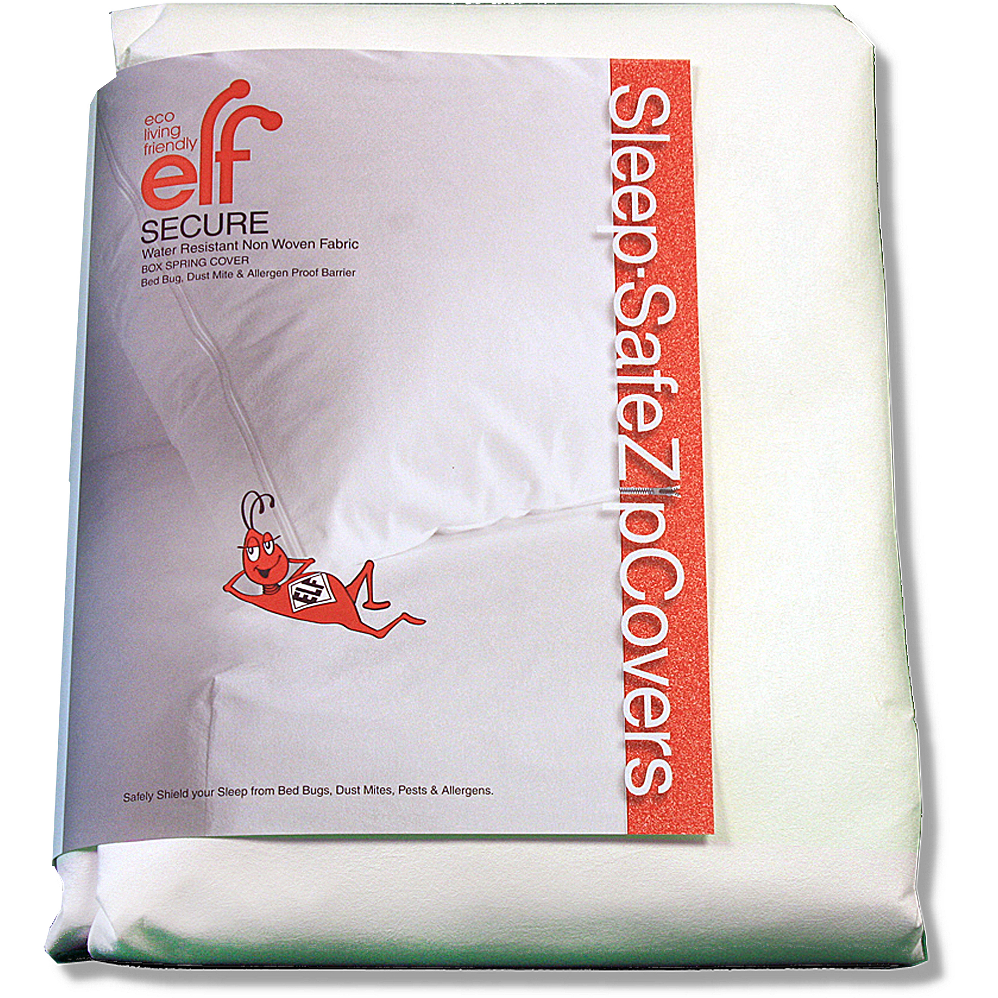 Sleep Safe ZipCover SECURE Box Spring/Mattress Cover