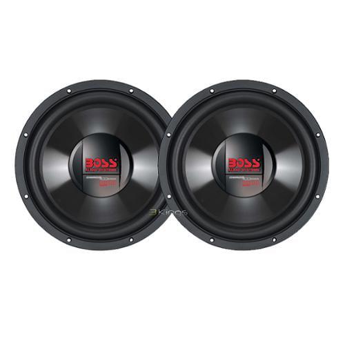 """2) New Boss Cx154Dvc 15"""" 3600W Dual 4 Ohm Car Audio Subwoofer Sub 3600 Watt"""