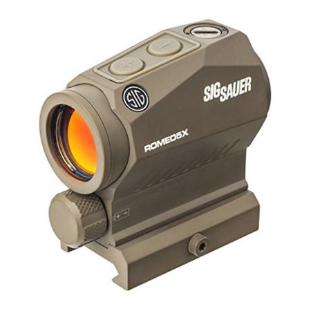 Sig Sauer OPMOD Romeo5 X 1x20mm Compact Red Dot Sight, 2 MOA Dot Reticle, Flat (Sig Sauer Romeo5 1x20mm 2 Moa Red Dot)