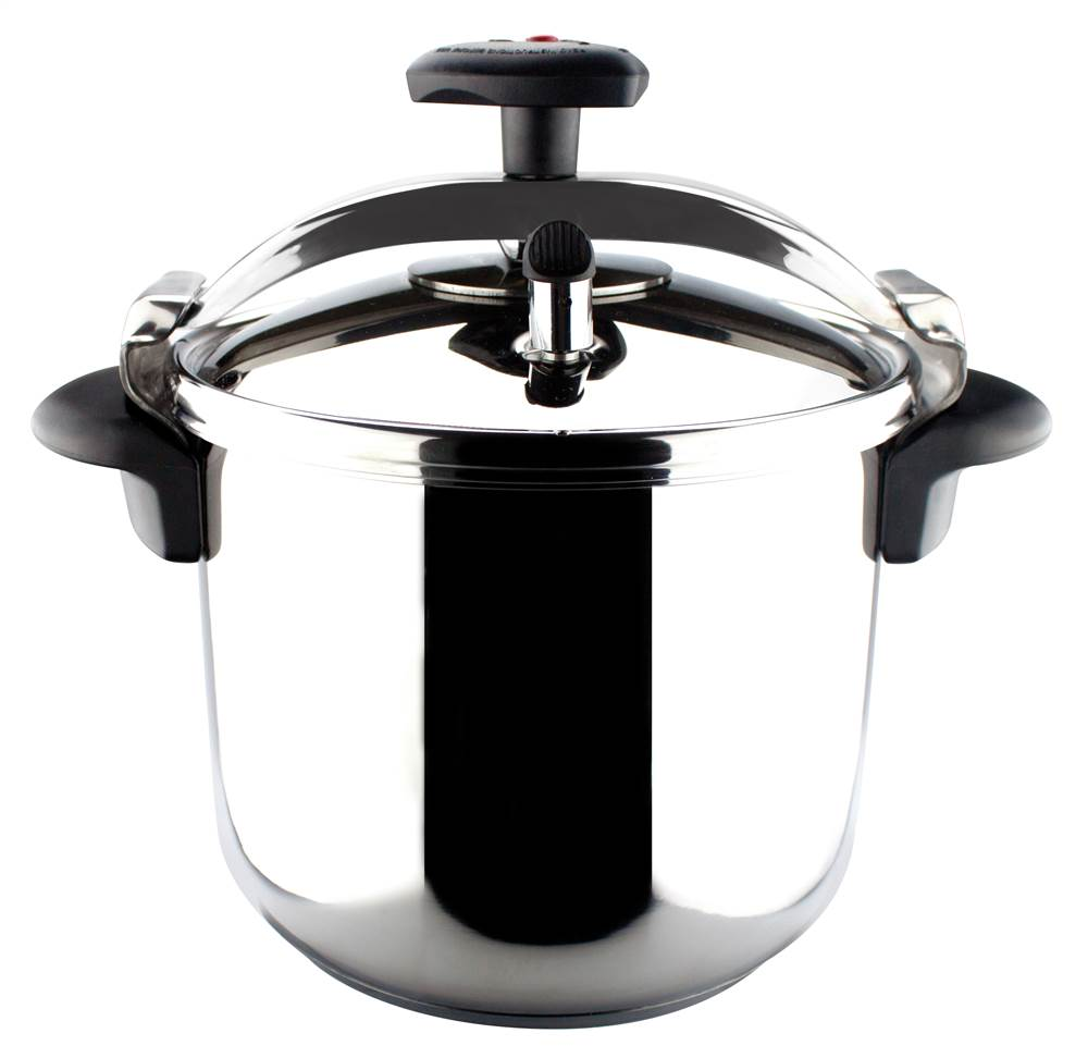 Stainless Steel Fast Pressure Cooker (4 Quart)
