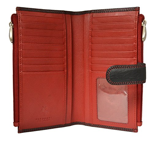 Visconti CD23 Jade Womens Soft Leather Bifold Wallet ,Purse, Clutch COLORADO ...