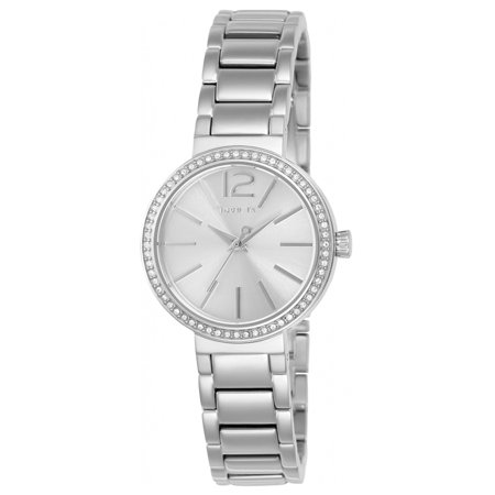 Invicta 23266 Womens Gabrielle Union Silver Dial Stainless Steel Crystal Watch
