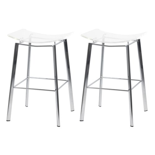 Orren Ellis Dru 24 Bar Stool Set Of 2 Walmart Com