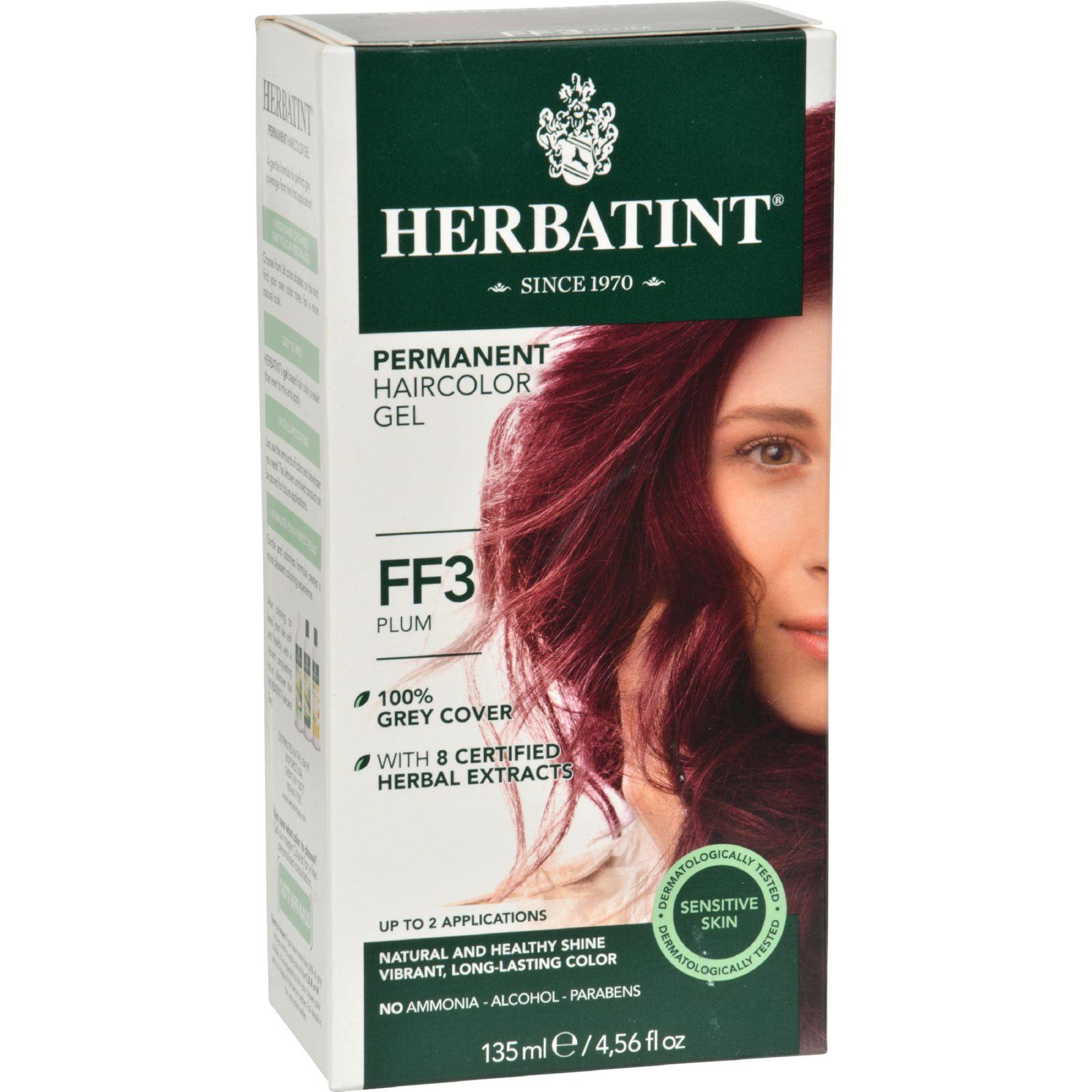 Bioforce Herbatint Flash Fashion Permanent Herbal Haircolor Gel, 4.5 oz
