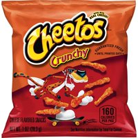 Cheetos Crunchy Cheese Flavored Snacks, 1 oz Bags, 40 Count