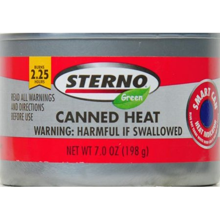 Sterno 2.25hr 7oz Canned Heat ()