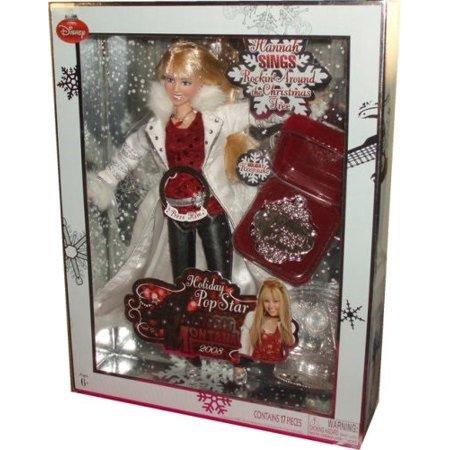 Hannah Montana Singing Holiday Collectible Doll (Hannah Montana Miley Doll)