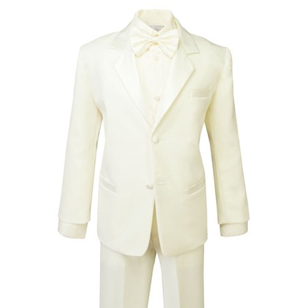 Youth Tuxedo (Spring Notion Boys' Classic Fit Tuxedo Set Ivory)