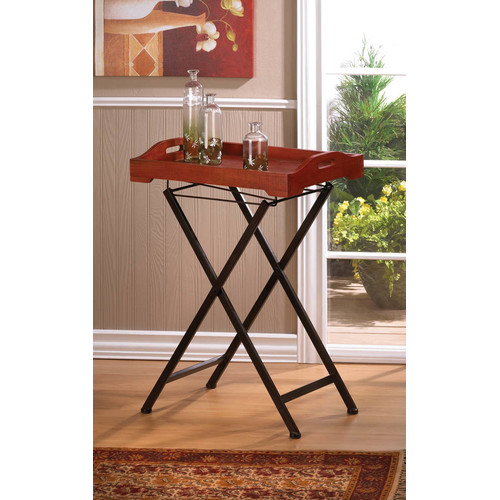 Zingz & Thingz Rustic Spirit Tray Table