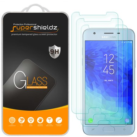 3rd Gen Screen Protector ([3-Pack] Supershieldz for Samsung Galaxy J3 V/ J3V (3rd Generation/Gen) Tempered Glass Screen Protector, Anti-Scratch, Anti-Fingerprint, Bubble)