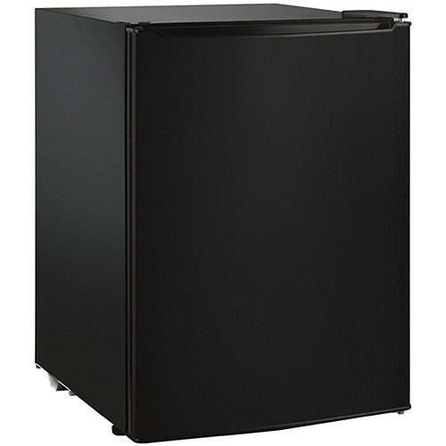 Hamilton Beach 2.7 cu ft Single Door Compact Refrigerator, Black