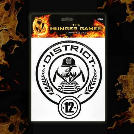 Neca The Hunger Games District 12 Laptop Decals Walmart
