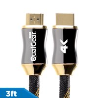 QualGear Premium Certified High-Speed HDMI 2.0 Cable with Ethernet