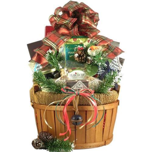 Gift Basket Vilage BoHoHa-Lg A Bountiful Holiday Harvest, Holiday Gift Basket - Large