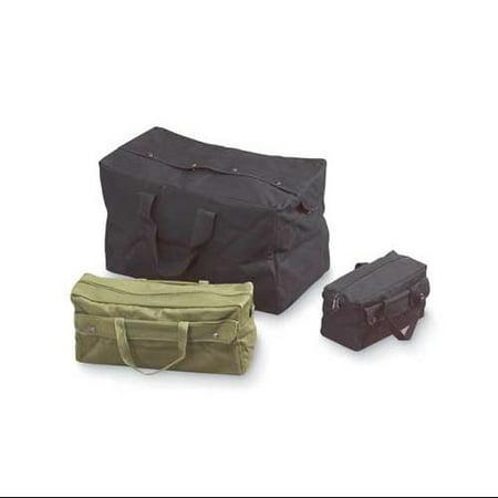 Texsport Tool Bag, Canvas/Fiber, Black, 11821