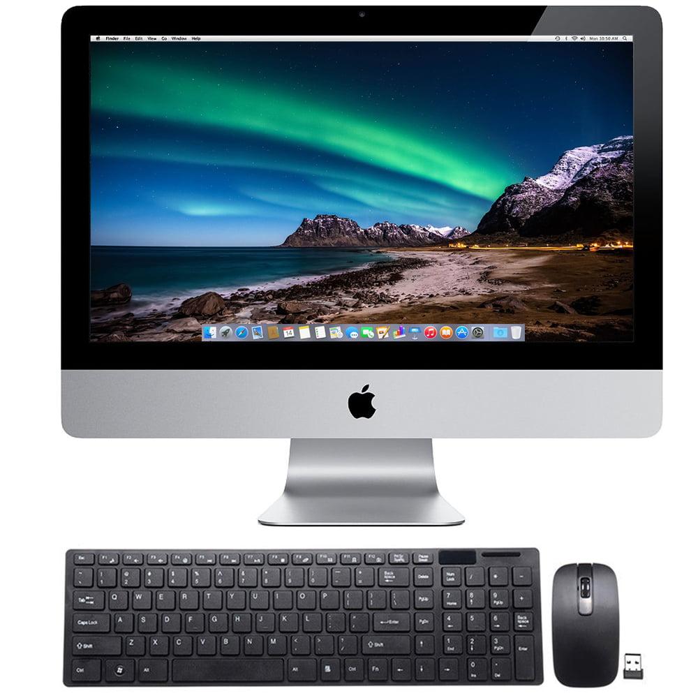 Manufacturer Refurbished Apple iMac 21.5-Inch - 250GB HDD, 2GB RAM, Intel Core i3 3.1 GHz (MC978LL/A)