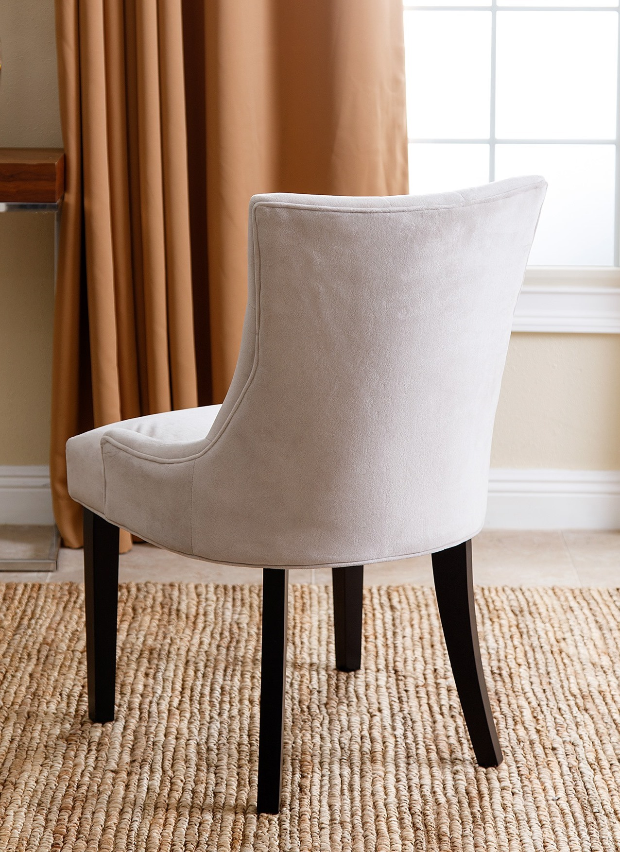 Abbyson Living Amman Microsuede Tufted Dining Chair Multiple