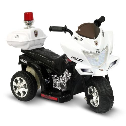 Kidz Motorz Lil Patrol 6V Battery Powered Motorcycle