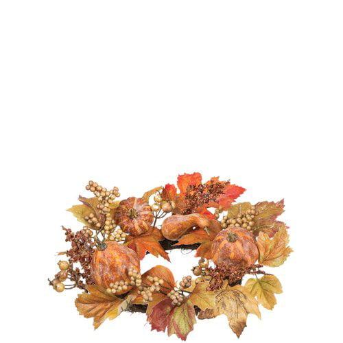 The Holiday Aisle Autumn 16'' Plastic Wreath