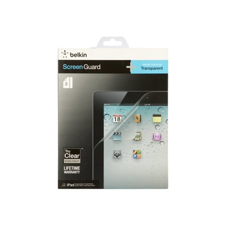 Belkin Screen Guard Transparent Overlay - Screen protector - for Apple iPad (3rd generation) ()