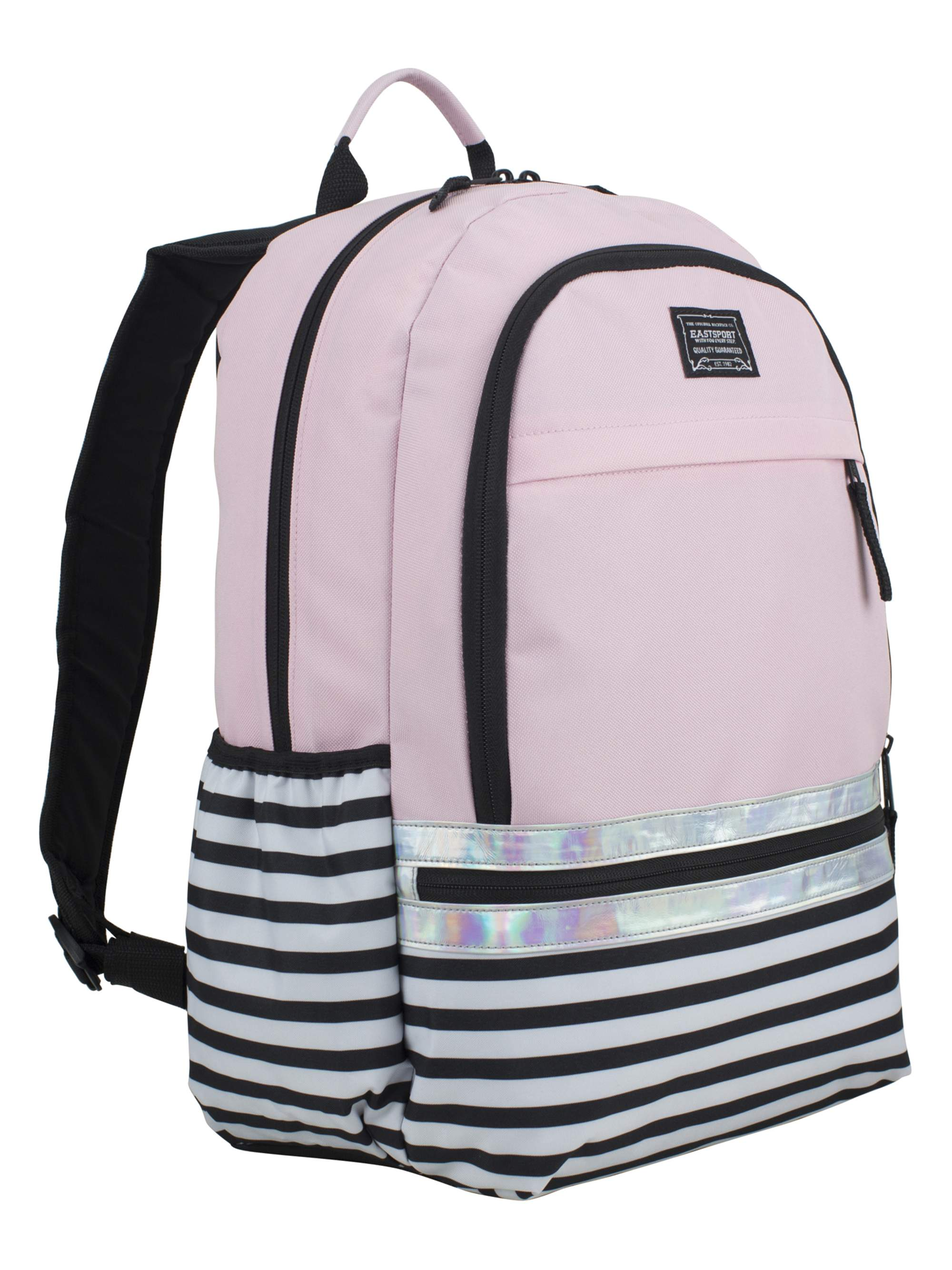 Eastsport Mya Girl's Student Backpack with Secure Laptop Sleeve by Bijoux International