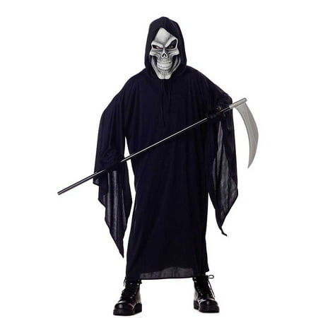 Child Grim Reaper Costume California Costumes 495 - Best Grim Reaper Costume