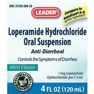 lopéramide antidiarrhéiques Hydrochloride liquide menthe 4 oz 1 Count