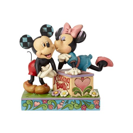 Jim Shore Disney 6000970 Kissing Booth 2018 ()