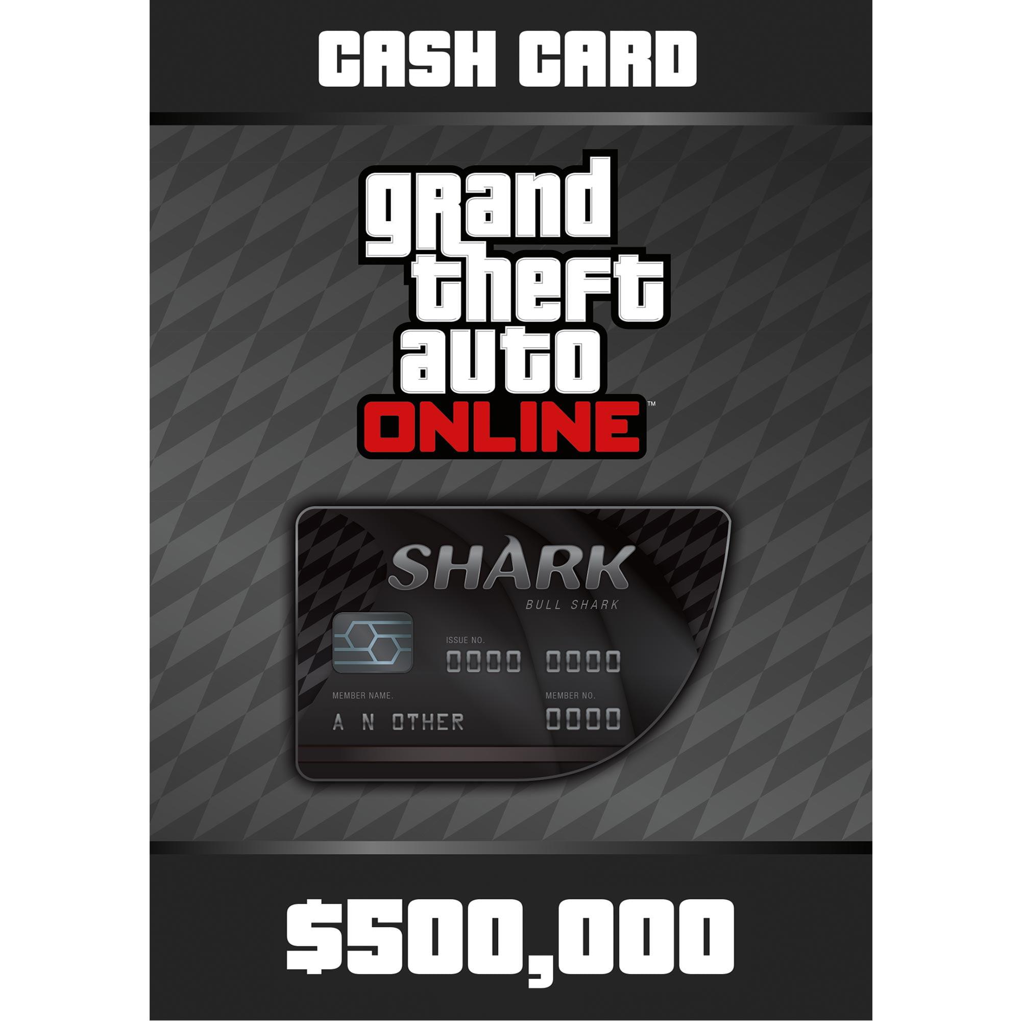 Grand Theft Auto Online - Bull Shark Card (PC)(Digital Download)