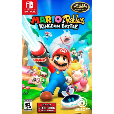 Mario   Rabbids Kingdom Battle Day 1 Edition  Nintendo Switch