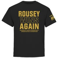Ronda Rousey Youth UFC 190 Rousey Always Wins T-Shirt - Black