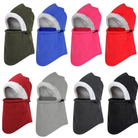 b1401f3a21f Kid Men Women Winter Warm Fake Fur Balaclava Trapper Hat Snow Ski Cap  Beanie Hat - Walmart.com
