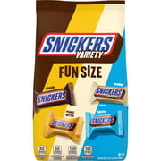SNICKERS Fun Size Chocolate Candy Bars Variety Mix, 35.09 Ounce Bag